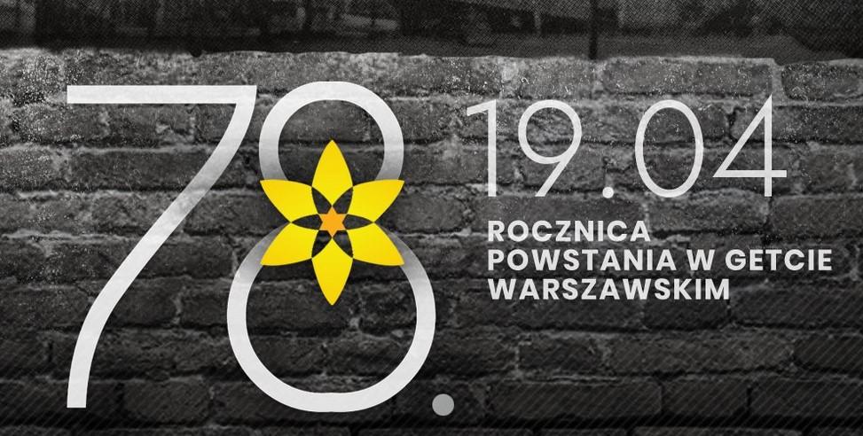 78 rocznica wybuchu Powstania w Getcie Warszawskim - Pruszków